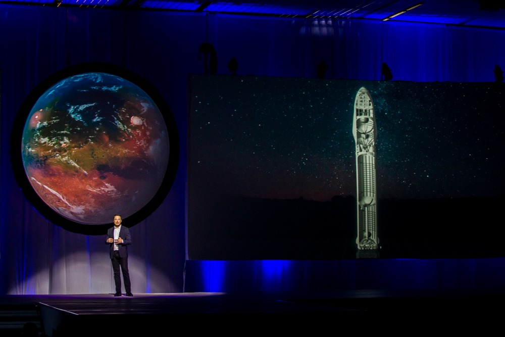 space x musk mart